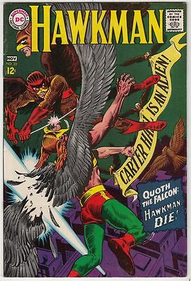 Hawkman 22 strict VF/NM minus 9.0 High-Grade    1st  Appearance-  The Falcon!