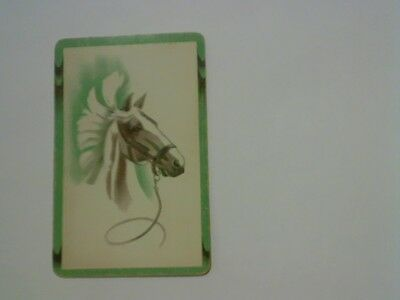 1 Single Swap/Playing Card - Show Horse Head
