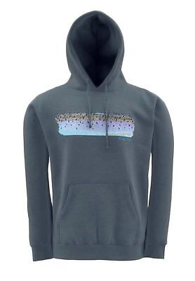 Simms DEYOUNG Steelie Flank Hoodie ~ Sport Grey NEW ~ Closeout Size Small