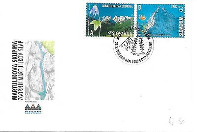 Mountains -  First Day Cover. 21.03.2002