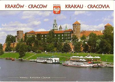 Cracow, Poland - The Royal Castle - Used Postcard. 2012