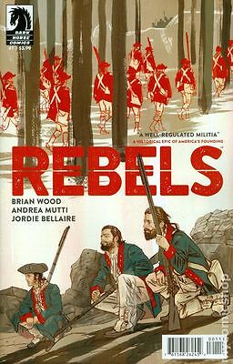 Rebels (2015 Dark Horse) #1A NM