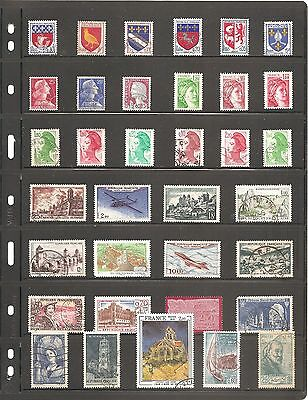 A Nice Collection  Of 35   France    Fine Used   Stamps