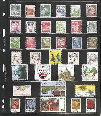 A Nice Collection  Of 35 Germany    Fine Used   Stamps