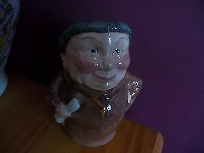 Friar Staffordshire Character Toby Jug By Manor