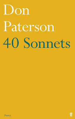 40 Sonnets, Paterson, Don, New