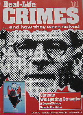 Real-Life Crimes Issue 11,  Rillington Place Murders John Christie