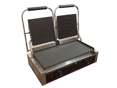 *NEW FOR 2017* Commercial electric double contact grill / panini grill