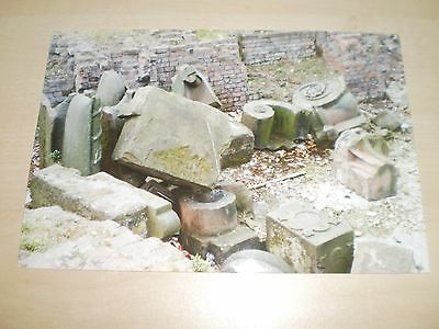1980s Original Photograph Of Liverpool Sailors Home Old Stonework Remains Cannin