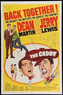 CADDY - R64 - Original 27x41 Movie Poster - JERRY LEWIS and DEAN MARTIN - GOLF