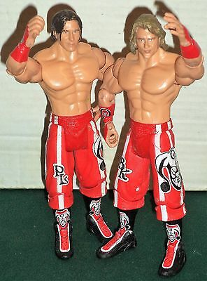 Wwe Wrestling Figures Tag Team Hooliganz Brain Kendrick & Paul London Wwf Jakks