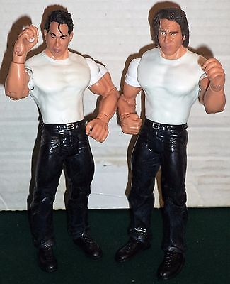 Wwe Wrestling Figure Tag Team Deuce & Domino Wwf Jakks