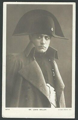 Lewis Waller Stage Actor Napoleon 1905 Rotary Real Photo Postcard