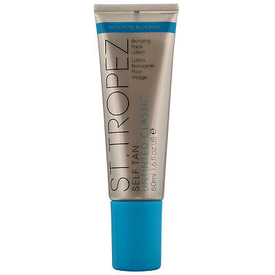St Tropez Self Tan Untinted Classic Bronzing Lotion Face 50ml for women