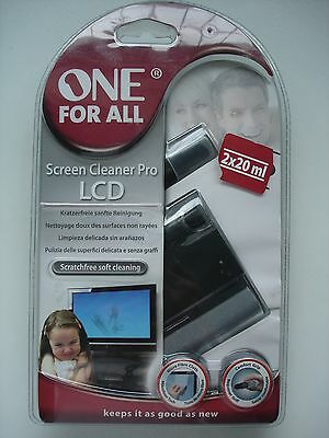 ONE FOR ALL -  Screen Cleaner Pro LCD - SV8450  -  Brand New and sealed