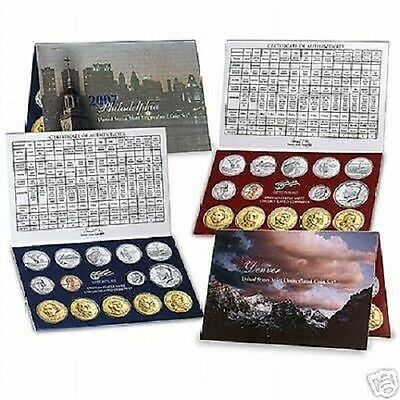 2007 Us Mint-P&d Uncirculated 28 Coin Set~~New Satin~~