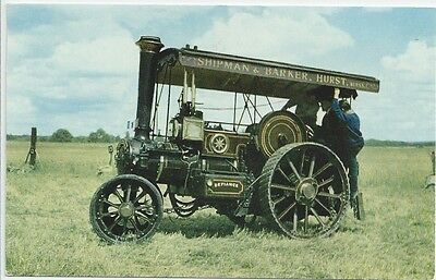 Burrell Compound Steam Tractor