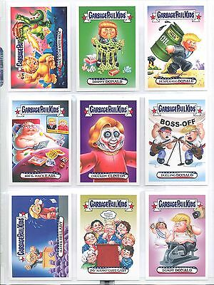 2016 Garbage Pail Kids Disg-Race to the White House Set #1 - #120 Donald Trump +