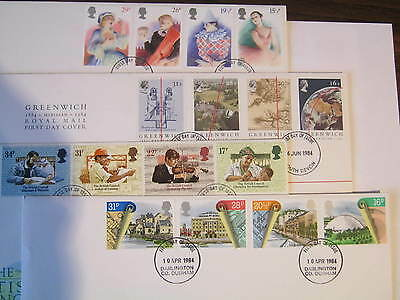 1984 First Day Covers x 4 different. (B)