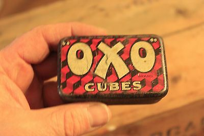 Vintage Small Oxo Cubes Traditional Storage Tin – Great! –