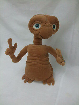 Vintage ET The Extra Terrestial Official Universal Talking Light Up Soft Toy