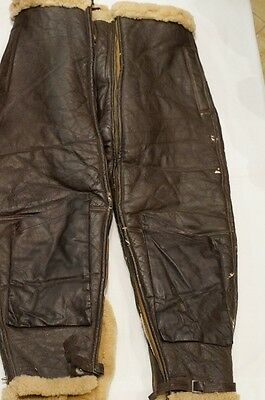 WW2 USAAF Air Force Fleece Lined Flight Pants