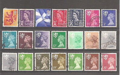 Great Britain   Regional  Scotland 21  Fine Used Stamps