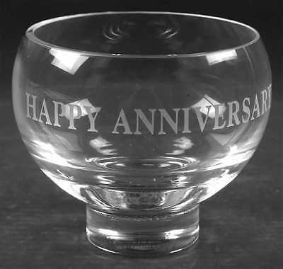 Caithness OCCASIONS Happy Anniversary Bowl 4036755