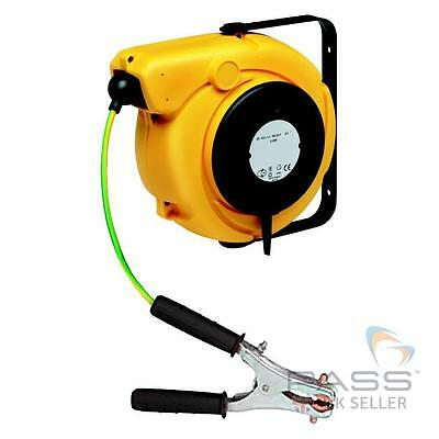 14.0m Earth Grounding Reel with Heavy Duty 400A 926 Clip