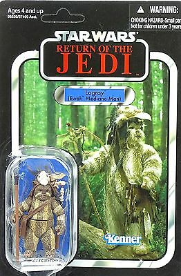 "Logray Ewok Medicine Man ""rotj"" Vc55 - Star Wars The Vintage Collection Hasbro"