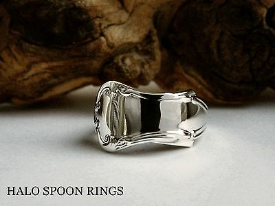 Beautiful Ornate Ladies Sterling Silver Pickle Fork Ring  ** Valentines Gift **