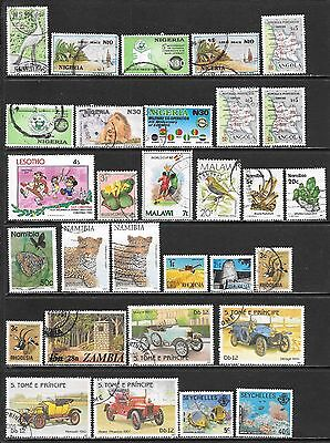 AFRICA Countries Interesting Mint & Used Issues Selection 'C' (Dec 0470)