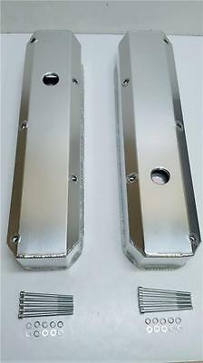 Small Block Plymouth Mopar Chrysler FABRICATED Aluminum Valve Covers 318 340 360
