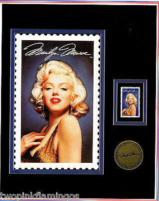 1995 Postmark Originals Marilyn Monroe  Promo Ad for Lithograph + Stamp