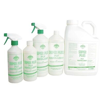BARRIER SUPER PLUS FLY REPELLENT TRIGGER/REFILL horse insect spray relief itch
