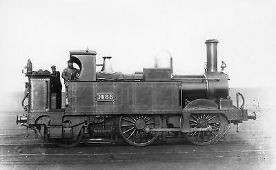 Photo GWR 0-4-2T No 1488 at unknown location R/F by Real Photographs