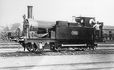 Photo GWR 2-4-0T No 1452 at unknown location