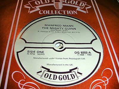 Manfred Mann - The Mighty Quinn / By Request-Edwin Garvey