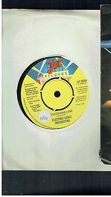Electric Light Orchestra Telephone Line 45 1976