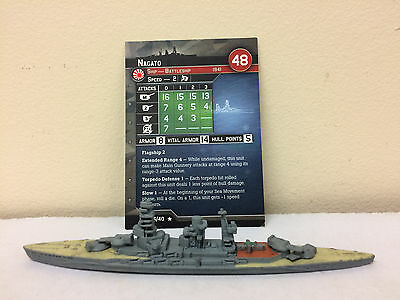 Axis and Allies War at Sea Task Force #27 - USS Massachusetts (BB 59)