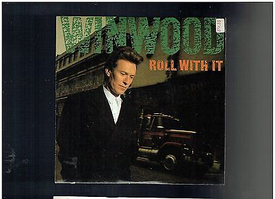 Steve Winwood Roll With It Ps 45 1988