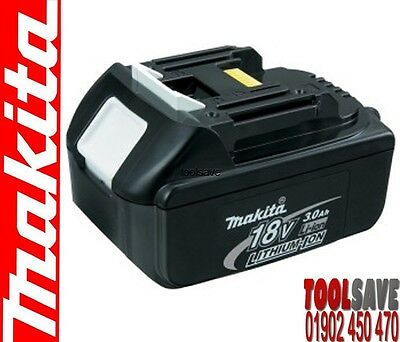 Genuine Makita BL1830 18v 3Ah Lithium Ion Battery  LXT UK / CE with Star New