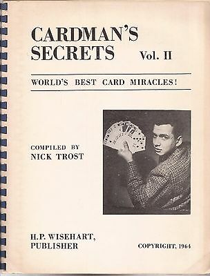 CARDMAN'S SECRETS Vol. II by Nick Trost 1964