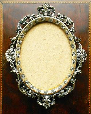 Vintage Italian Cast Brass Photo / Picture Frame