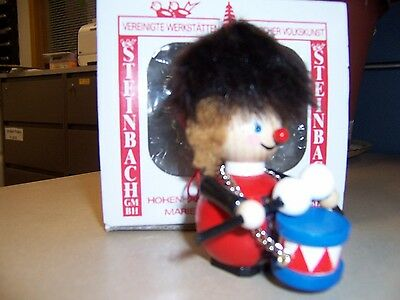 NEW Steinbach Nutcracker Ornament British Guard, Hand Made in Germany