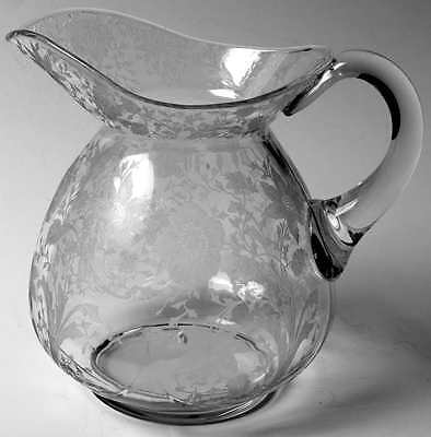 Cambridge WILDFLOWER CLEAR Doulton Pitcher 5492939