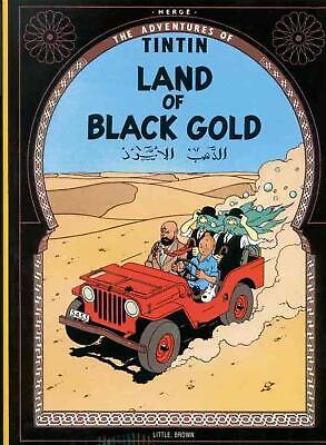 Land of the Black Gold by Herge (English) Paperback Book Free Shipping!