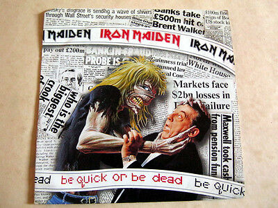 Iron Maiden-Be Quick Or Be Dead-Emi Em.229 +Picture Sleeve 1992 Ex+