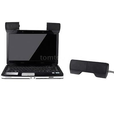 Mini Portable 3.5mm USB Stereo Speaker Sound Bar for Notebook Laptop Mp3 PC S5S2