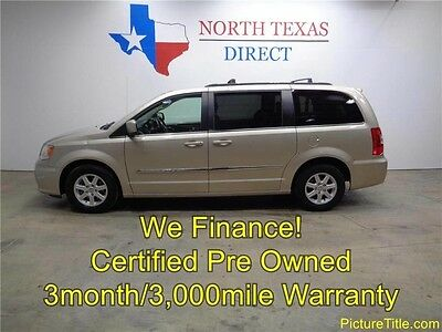 2013 Chrysler Town & Country Touring Mini Passenger Van 4-Door 13 Town & Country Back Up Camera Leather Stow N Go TV DVD WE FINANCE Texas